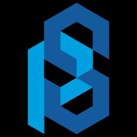 Logotype représentant un p et un s